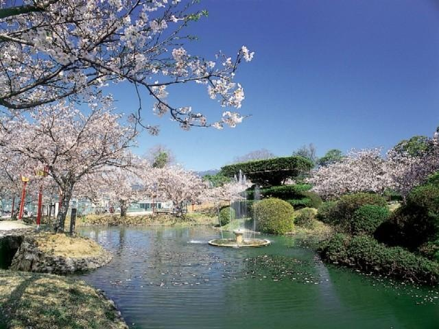 小城公園(佐賀県小城市)