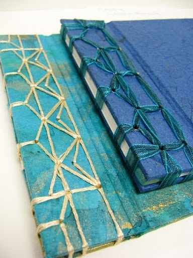 japanese stab binding - oh my god gorgeous