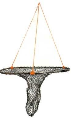 Pop net collapsible net 36 diameter specialty nets for Pier fishing net
