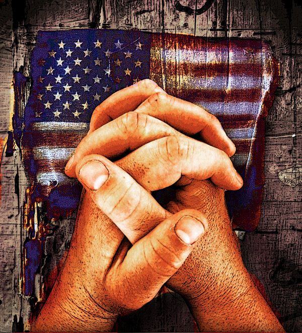 "Pray for America. - ""Listen! The LORD's arm is not too weak to save you, nor is his ear too deaf to hear you call. Stand and declare in God we trust (Jehovah God and to our Jewish friends!!! Bless Israel Amen! Isaiah 58 - Psalm 122."