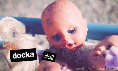 """en docka """