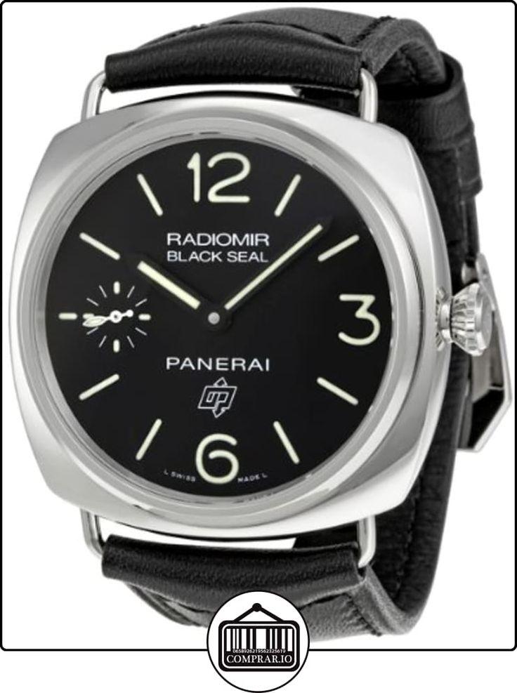 Panerai Radiomir Black Seal 00380-Reloj de hombre  ✿ Relojes para hombre - (Lujo) ✿