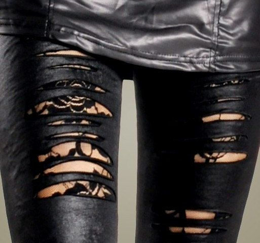 17 Best ideas about Ripped Leggings on Pinterest | Jeans and ...