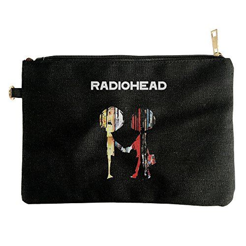 Radiohead The Best Of Album Canvas Pouch Bag