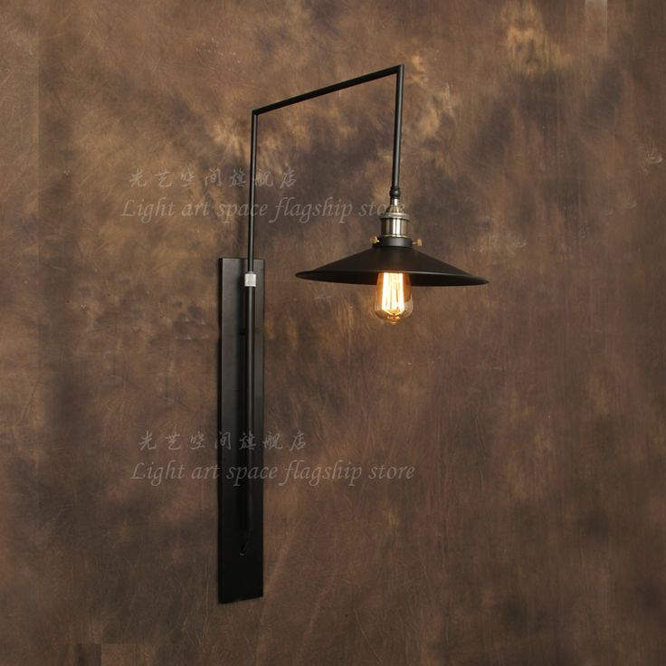 125 best retro loft wall lamps images on pinterest sconces wall cheap lamp clip buy quality lamp nec directly from china lamp rattan suppliers vintage american loft black wall lamp mechanical wall sconce bar counter mozeypictures Gallery