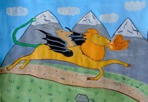Греция от древности до современности | Юный Художник – детские рисунки и конкурсы