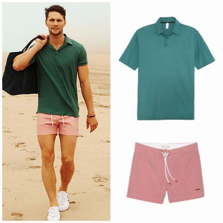 De la moda y otros demonios.: Hombres en la playa.