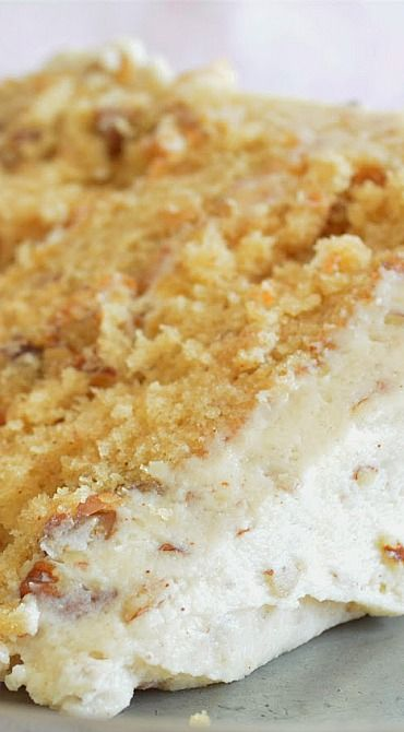 Brown Butter Pecan Cake, a very impressive and yummy cake. It disappeared at our church's Golden Age Sunday lunch.