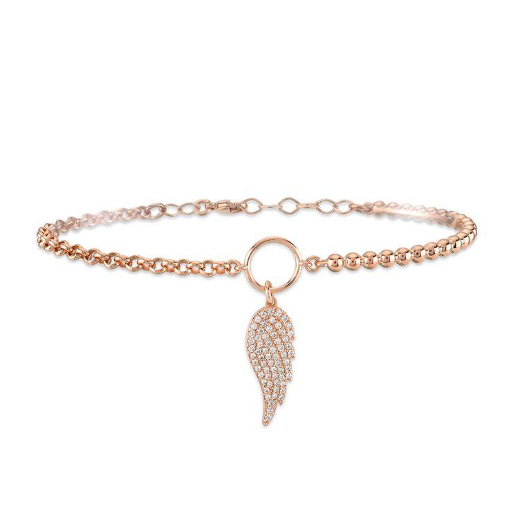 Kurshuni | AIBIJOUX  Wing bracelet  Sprign/Summer Collection 2017