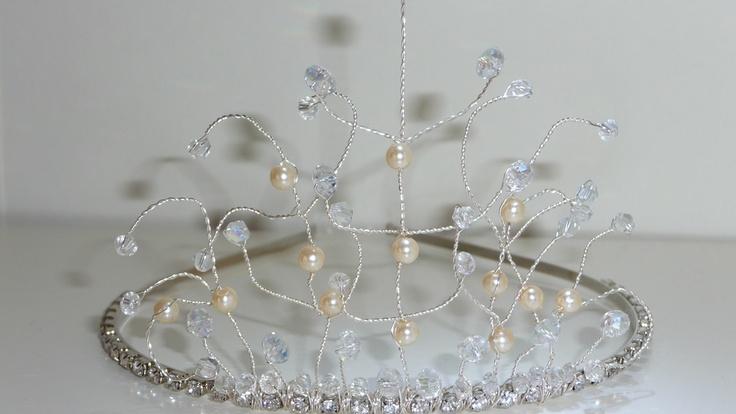 my first tiara i made