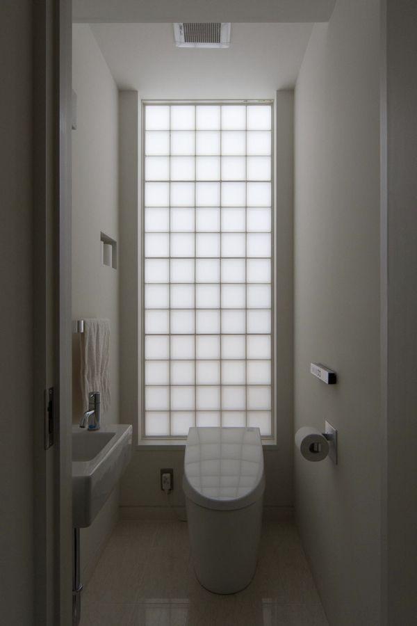 国領の家/トイレ/住宅