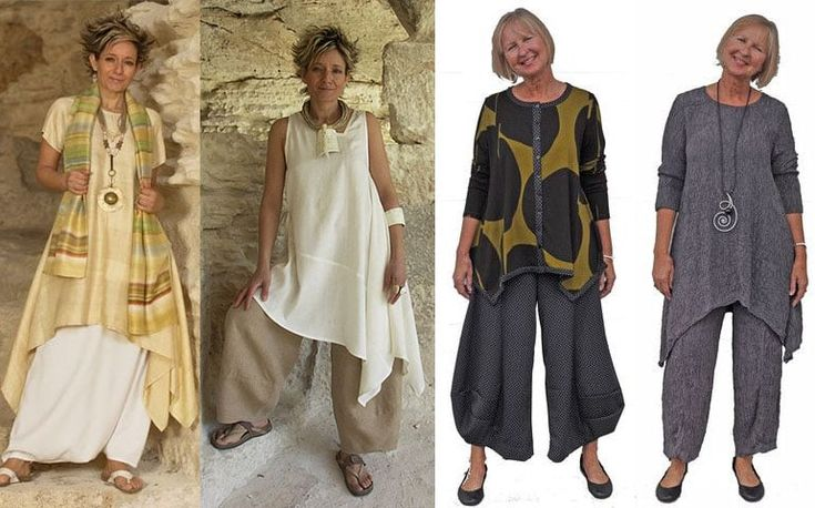 брюки и костюмы для женщин в возрасте за 50 лет, фото