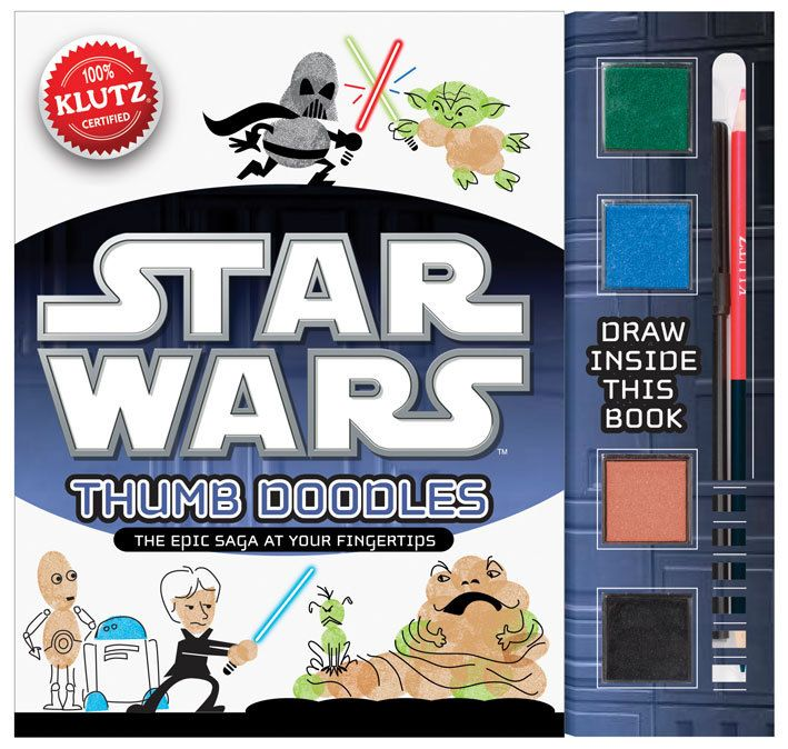 Klutz Star Wars Thumb Doodles | Kids Art | Klutz Star Wars Thumb Doodles from BrightMinds UK