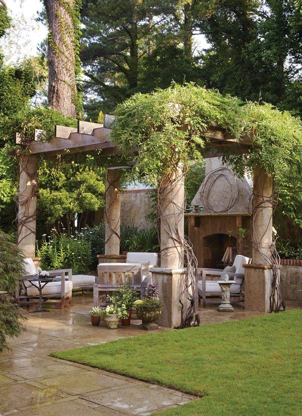 Large pergola over patio. #outdoor #living