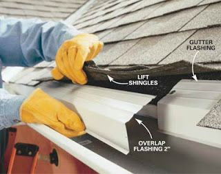 12 Best Images About Gutter Flashing On Pinterest
