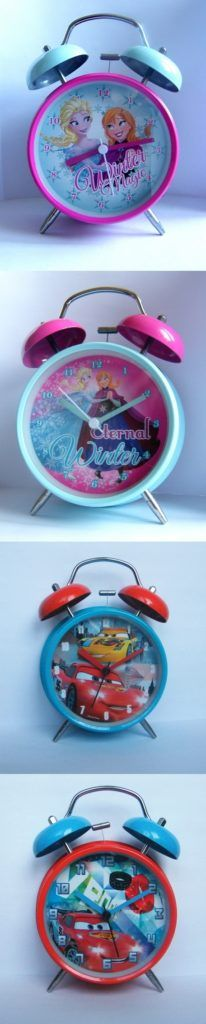 Original DISNEY alarm clocks for kids #watch #disney Oryginalne budziki Disneya dla dzieci