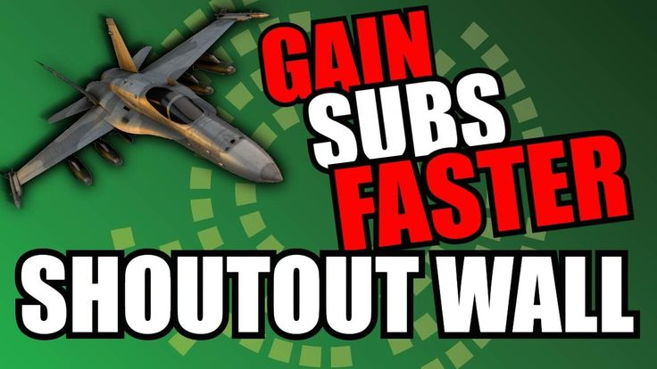 24/7 SHOUTOUT WALL  SUB 4 SUB  LIVE SUBBOARD  SONG REQUESTS  Gaming Highlights  AUTOMATED SUBBOARD  SUB 4 SUB  SUB4SUB LIVE STREAM  SHOUTOUT WALL FOLLOW THE INSTRUCTIONS BELOW TO GET YOUR OWN LIVE SUBCOUNT  HOW TO GET ON THE SUBBOARD  1. Type !shoutout in chat. You should get added to the Subboard (or queue if its full). 2. ???? 3. Profit -- Wait time is how long someone new being added to the Queue would have to wait. SONG REQUESTS  Use !songs to find out commands !sr or !songs request…