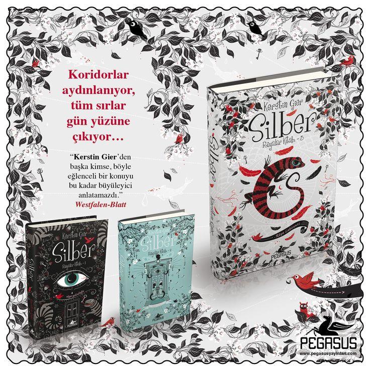 #YENİKİTAP  SİLBER (Ciltli) Rüya Labirenti / Rüyalar Kitabı 3 │ KERSTIN GIER  Koridorlar aydınlanıyor, tüm sırlar gün yüzüne çıkıyor…    Özgün Adı: Silber: Das dritte Buch der Träume Çeviri: Arzu Nar Sezgin (Almanca) Tür: Roman - Fantastik - Genç & Yetişkin Sayfa: 432 Dağıtım Tarihi: 22 Kasım 35. İstanbul Kitap Fuar Satışı: 12 - 20 Kasım