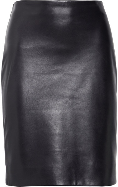 The Row Norick Leather Pencil Skirt: Style 2 0, Fashion, Row Norick, Lovin Leather, Leather Pencil Skirts, Norick Leather, Leather Book, Sick Style, Ditte Style