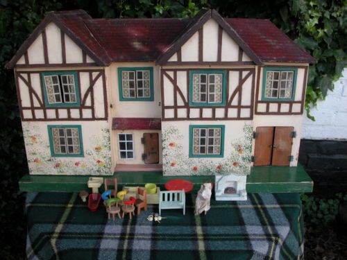 Details About Vintage Triang Dolls House Dolls Vintage And House