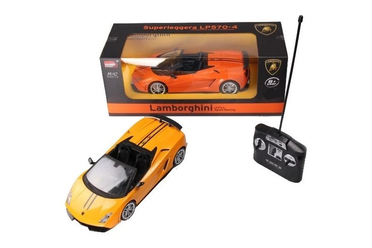 Remote Control (RC) - Lamborghini Superleggera 1:14 Spyder LP570-4 (Orange) - Available to buy now!