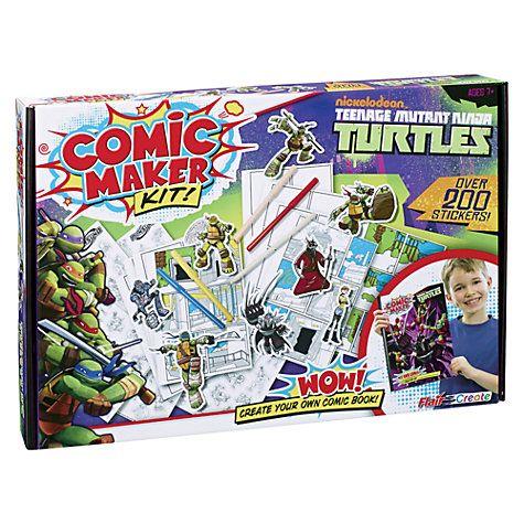 Buy Teenage Mutant Ninja Turtles Comic Maker Online at johnlewis.com