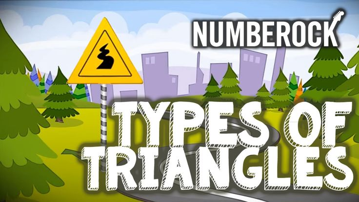 Triangle Song ⋆ Types of Triangles For Kids by NUMBEROCK