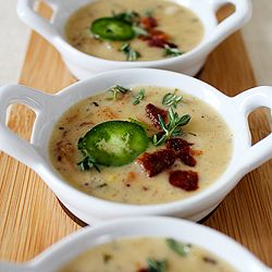 Sharp Cheddar, Bacon and spicy Jalapeno Soup: Cheddar Soups, Jalapeno Soups, Beer Cheese Soups, Smoky Bacon, Fast Recipes, Cheddar Cheese, Cooking, Soups Recipes With Cheddar, Brown Ales