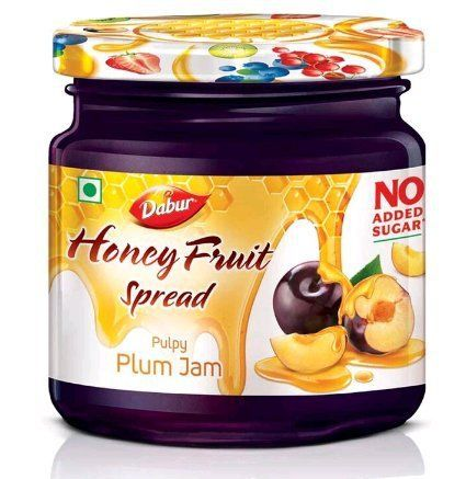 Dabur Honey Fruit Spreads, Plum, 370g