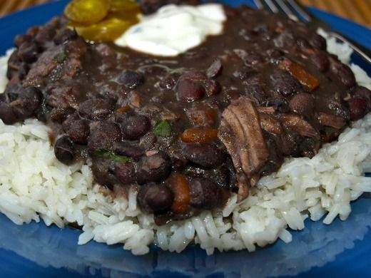 Black Beans and Rice | Recipe | Rice, Black beans and Cuban black ...