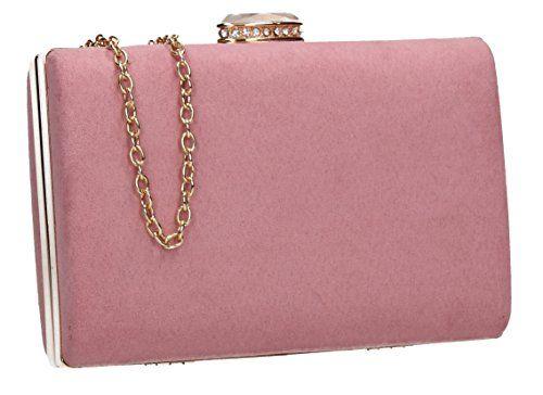 Blush Pink Clutch Bag