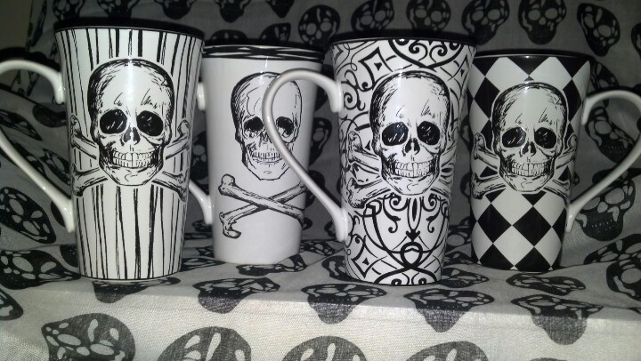Cool mugs I bought at my local Ross store... Love these!!!!