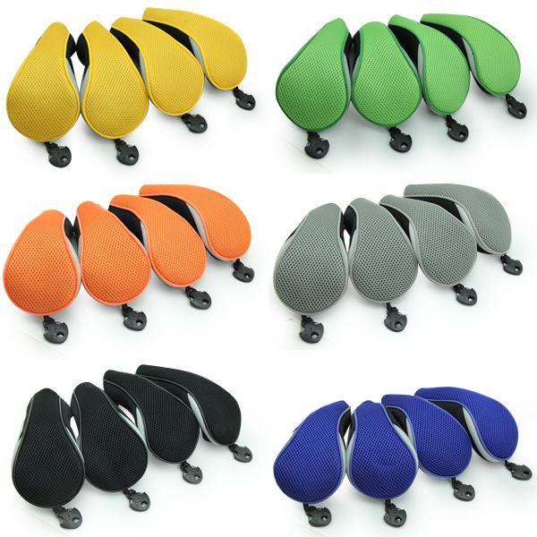 4pcs Neoprene Golf Club Hybrid Cover Headcovers Taylormade Rescue Titleist  Eamil: bettygolflover@yahoo.com Skype: betty.den