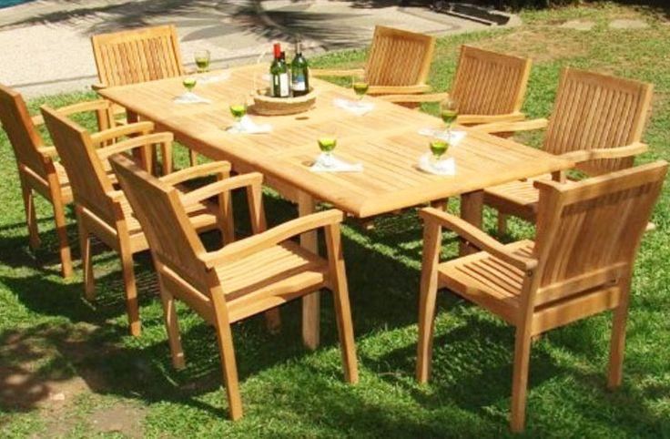 Teak Patio Furniture Maintenance: 13 Best Teak Outdoor Furniture Images On Pinterest