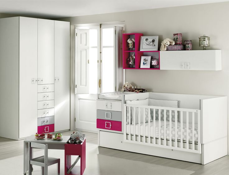 24 best Habitaciones bebés images on Pinterest | Nursery, Baby rooms ...