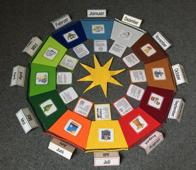 Weiteres - Jahreskreis FILZ - ein Designerstück von tinfel-montessori bei DaWanda