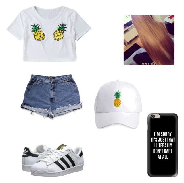 """•no rain,no flowers•"" by jessica-smith-xxv ❤ liked on Polyvore featuring adidas Originals, Casetify and Ashley Stewart"