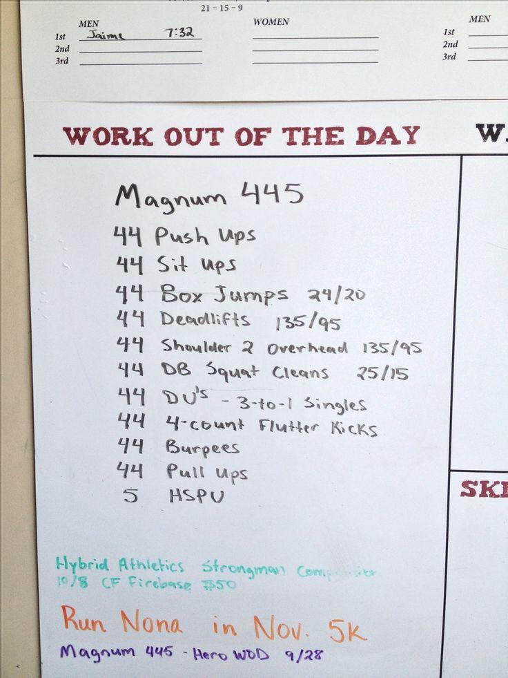 Magnum 445 Hero WOD  Crossfit Broken Chains, Orlando FL