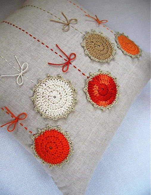 crochet cushion idea