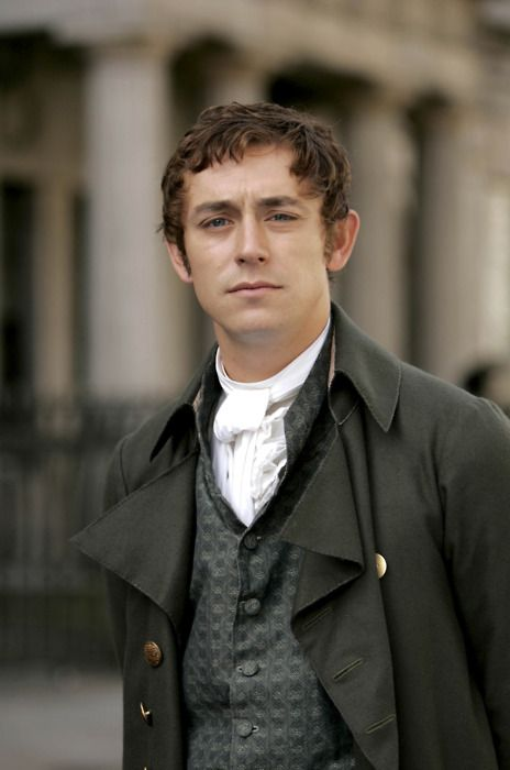 Ah Mr Tilney, completely irresistible with his knowledge of muslin.