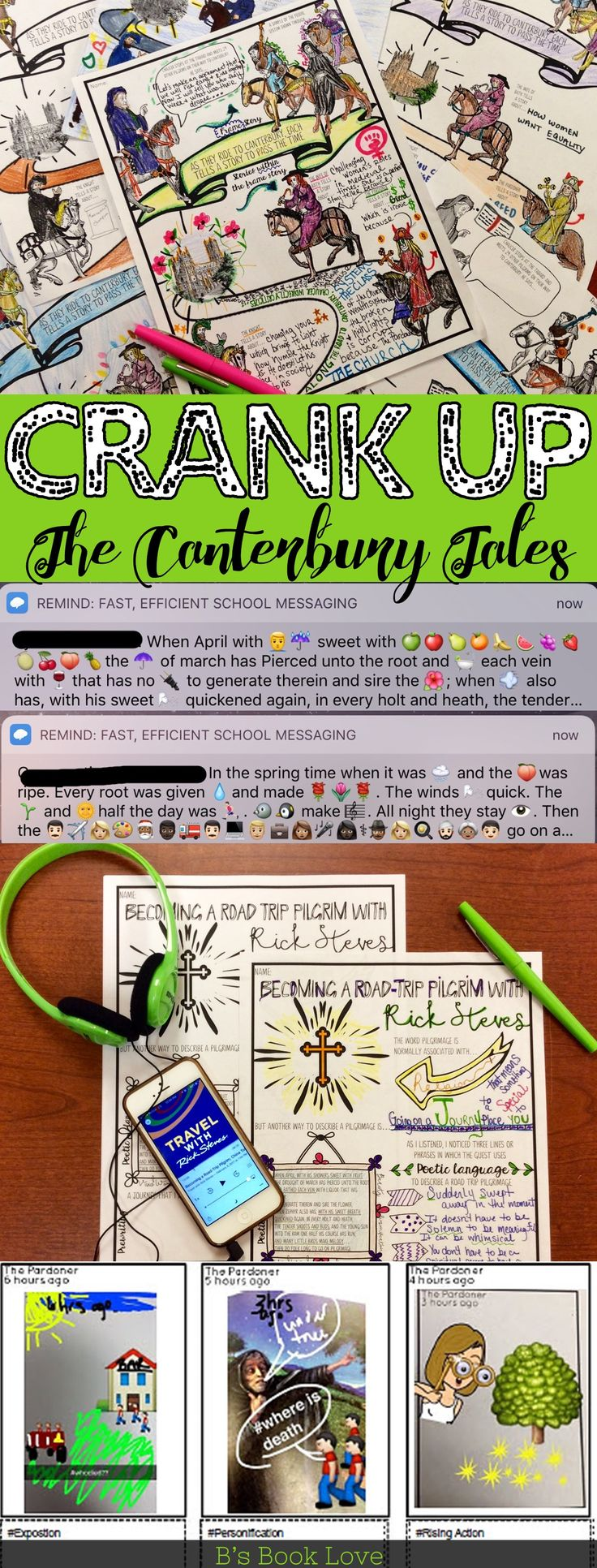 Crank up The Canterbury Tales: Fun, real-world lesson plans for The Canterbury Tales