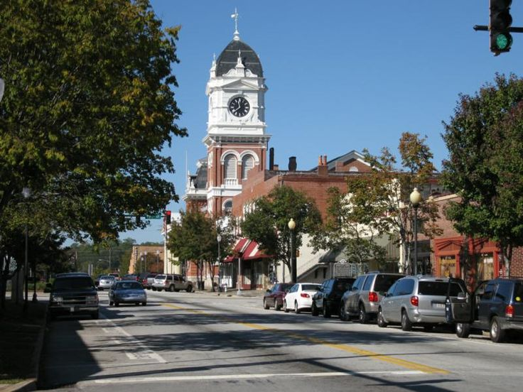 covington, georgia - location for In The Heat Of The Night filming (tv) starting in the second season