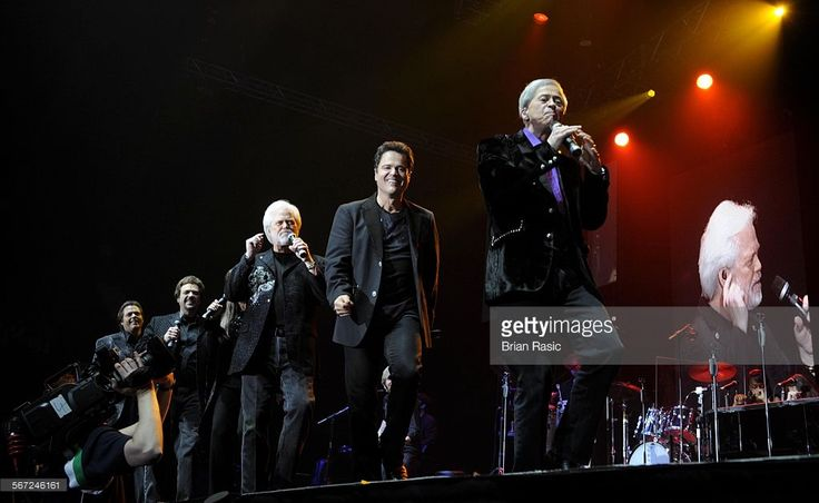 The Osmonds In Concert At Wembley Arena, London, Britain - 30 May 2008, The Osmonds - Merrill, Donny And Wayne Osmond