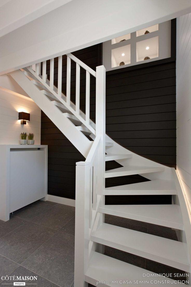 maison dans un lotissement urbain dominique semin c t maison escalier pinterest. Black Bedroom Furniture Sets. Home Design Ideas