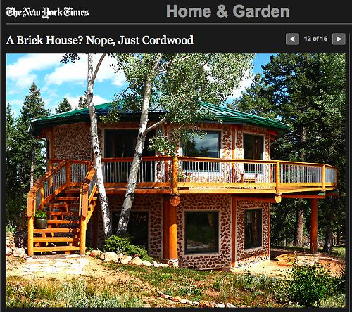 New Construction Brick Home: 33 Best Cordwood Homes Images On Pinterest
