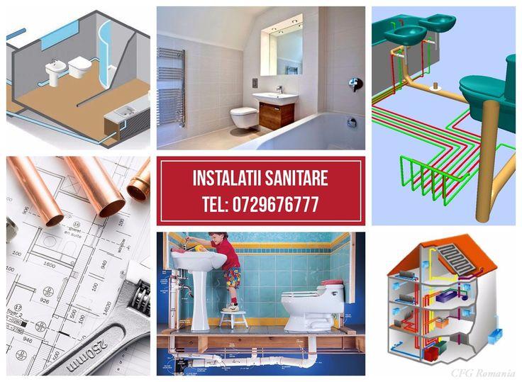 INSTALATII SANITARE CASNICE SI COMERCIALE Informatii la tel: 40729676777  www.ana-invest.ro #constructii #case #instaltii
