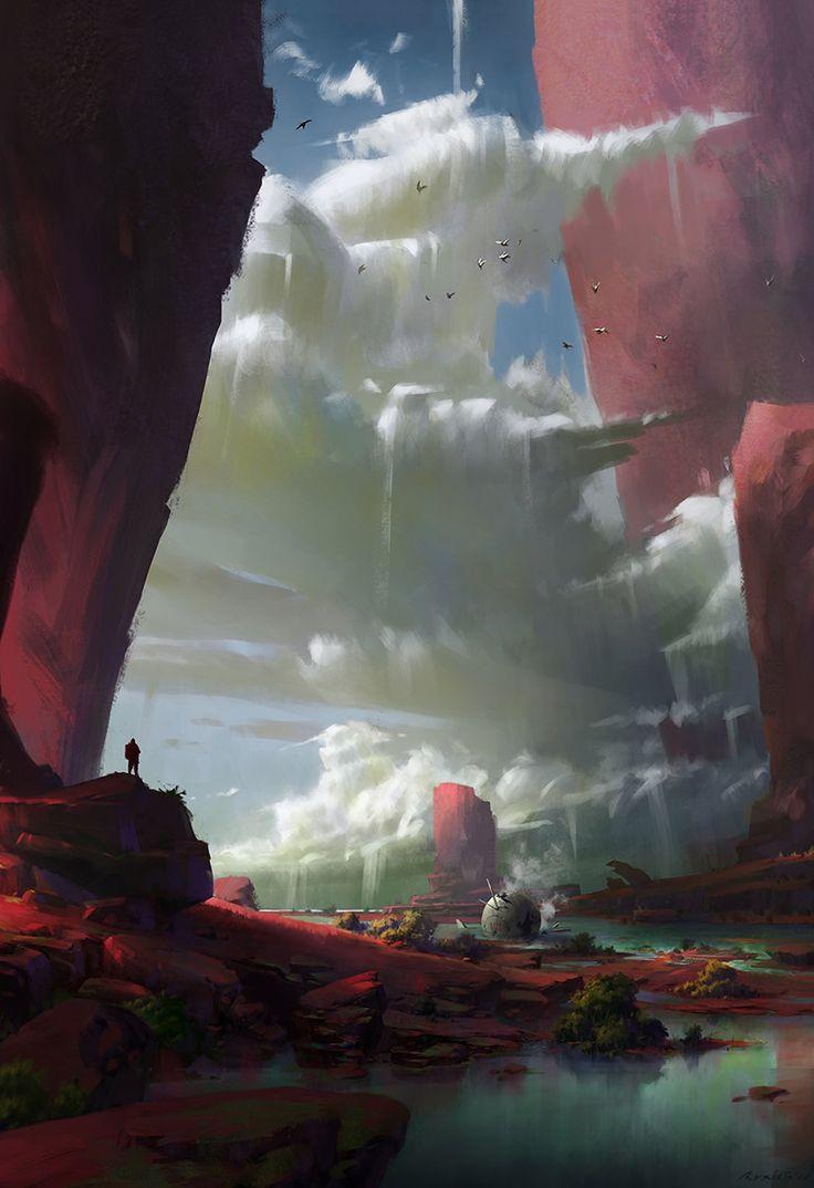 Cloud, Ruxing Gao on ArtStation at https://www.artstation.com/artwork/cloud-8fff1beb-079d-41e8-a969-ee0734bd4d49