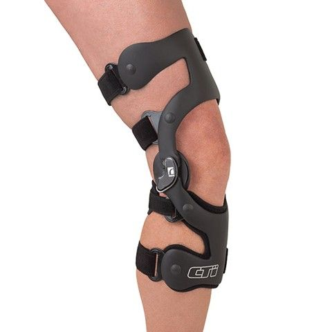 CTi Custom CTi braces provide the ultimate combination of stabilization and protection of the knee joint. This truly custom-made brace uses Accutrac® hinges with extension stops to glide with the knee...