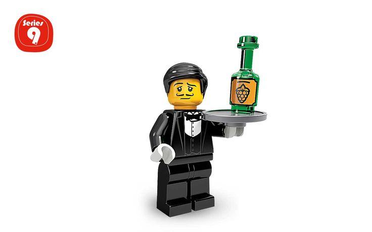 Kellner - Spielfiguren - Minifigures LEGO.com