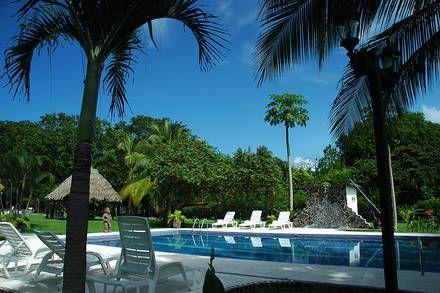 Beach an Pool Hotel Costa Rica Samara Guanacaste